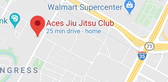 Aces Jiu Jitsu Club South Austin Texas Map Pic