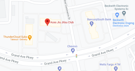 Aces BJJ Club North Austin Texas Map Snapshot